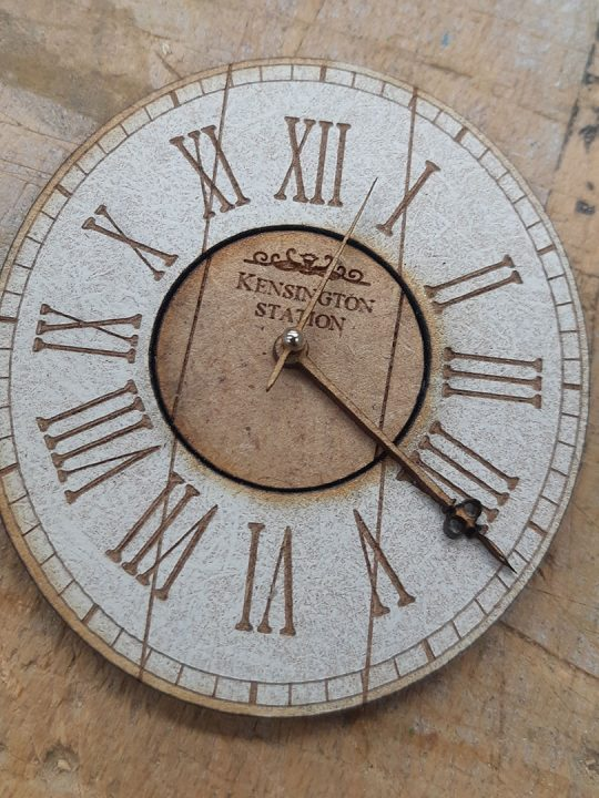 Kit de un reloj de pared