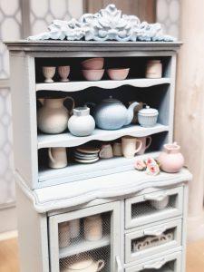 XL cupboard miniature kit with ornament