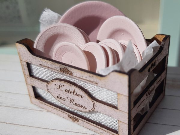 Vajilla L'atelier des Roses impresion 3D